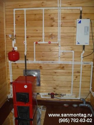 Акция отопление на даче под